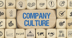 Company Culture Wooden Blocks